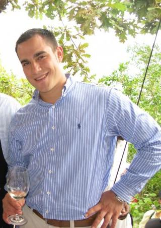 Francisco Barona.Enólogo Bodegas Dominio Basconcillos.Evento: Cata de vino, Restaurante Sotavento Santurtzi